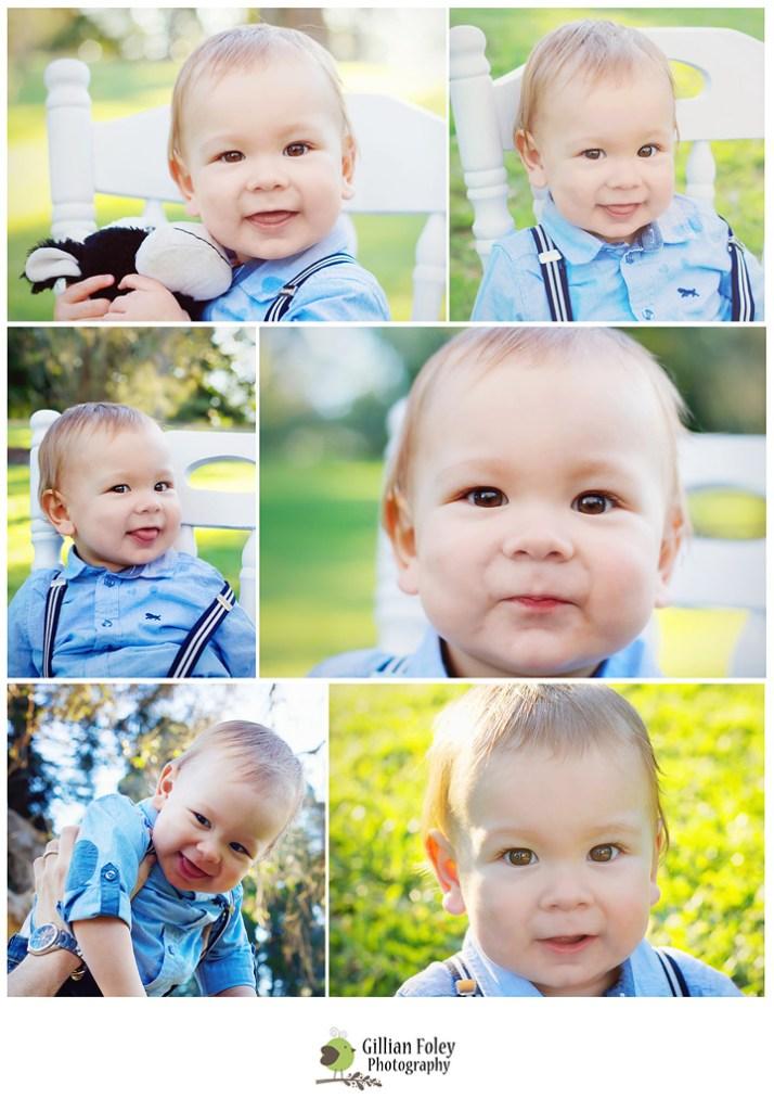 Donovan's first birthday session   Gillian Foley Photography