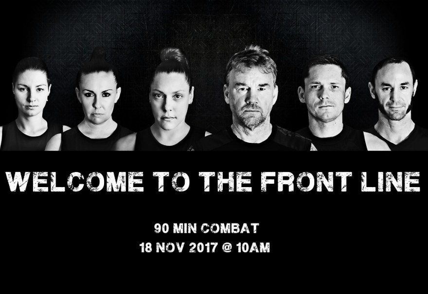 Welcome to the front line