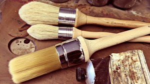 Paint Brushes by Gillian Lee Smith