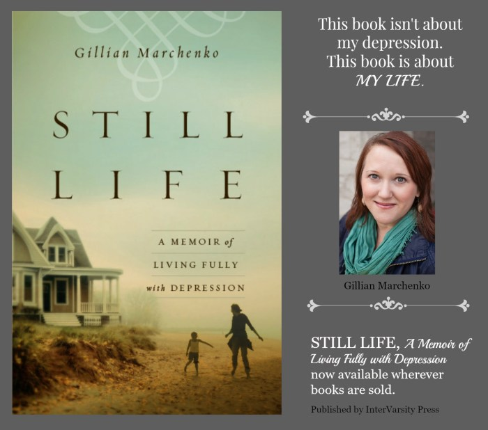 Still Life book launch day