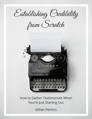Establishing Credibility from Scratch (Cover)