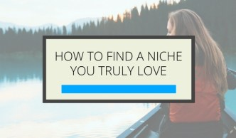 Find Your Niche - Online Business - Gillian Perkins