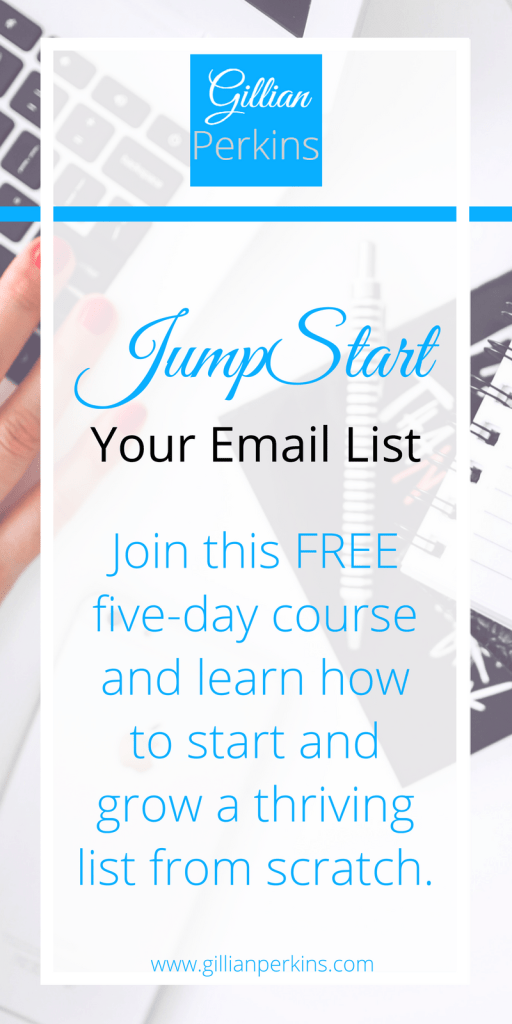 JumpStart Your Email List Pinterest