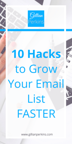 Learn ten crazy new strategies to grow you email list faster than you'd ever expect!