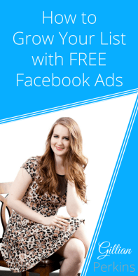 Check out this article that explains how to use Facebook Ads for FREE to grow your email list
