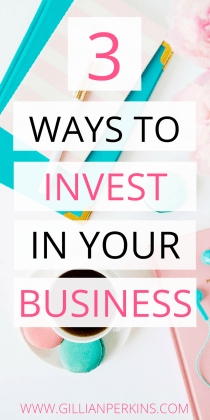 "What does it really mean to ""invest"" in your business? For so long I wondered... I wanted my business to grow and thrive, but I just didn't even know what I should be doing. Well, after ten years of working for myself, I finally figured it out. :P"