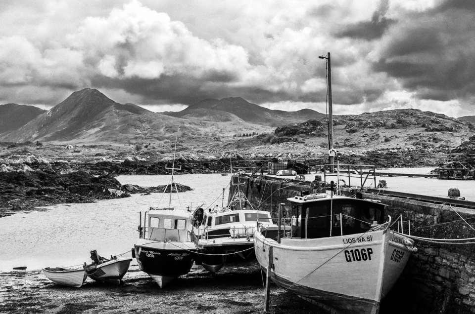 Carte postale du Connemara