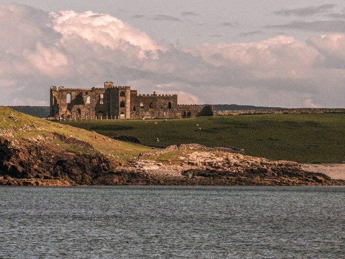 Ruines hantées du château de Grace O'Malley