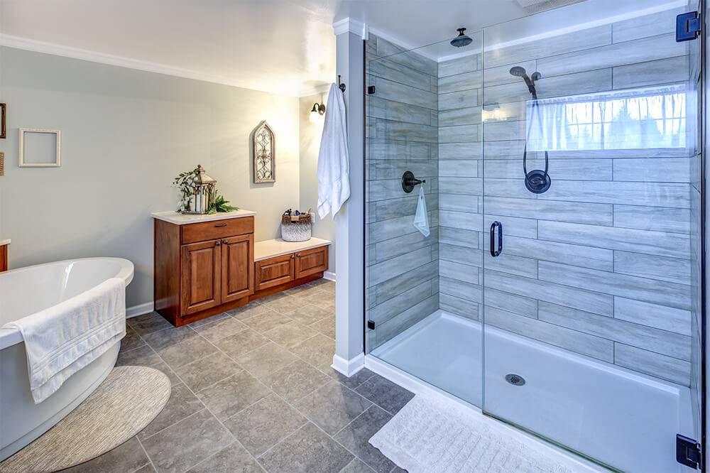 7 inspiring walk in shower tile design