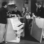 Gil and Judy Garland during the musical number Embraceable You in Girl Crazy.