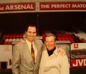 Gil meeting with one of the heads of MLS Arsenal in England