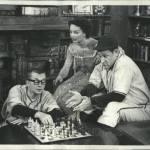 1954 Publicity shot for That's My Boy tv show also featuring Rochelle Hudson Eddie Mayehoff