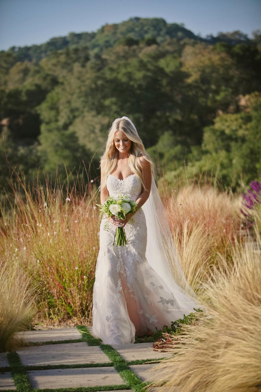bride, wedding ceremony, wine country wedding