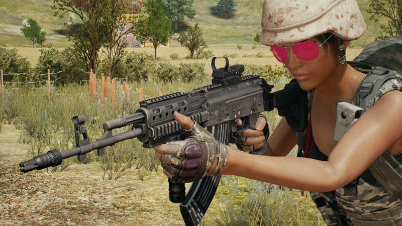 assault rifle terbaik