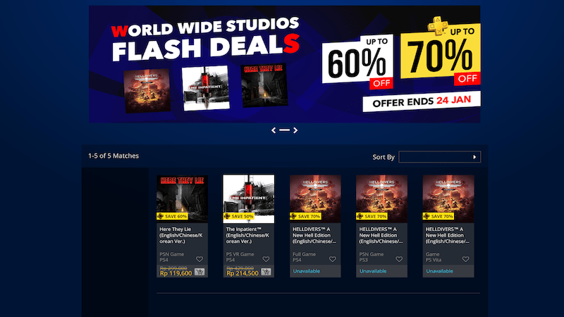 keuntungan playstation plus - diskon eksklusif