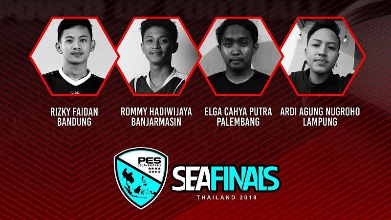 Indonesia Menjadi Raja di PES SEA Finals 2019 - Perwakilan Indonesia
