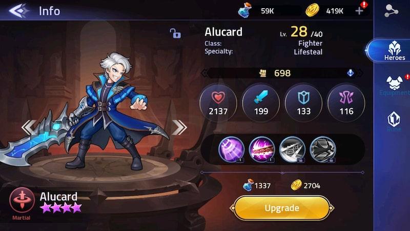 Mobile Legends Adventure - Alucard | Gimbot