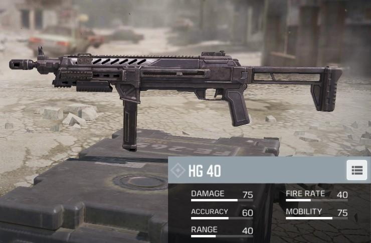 hg 40 cod mobile