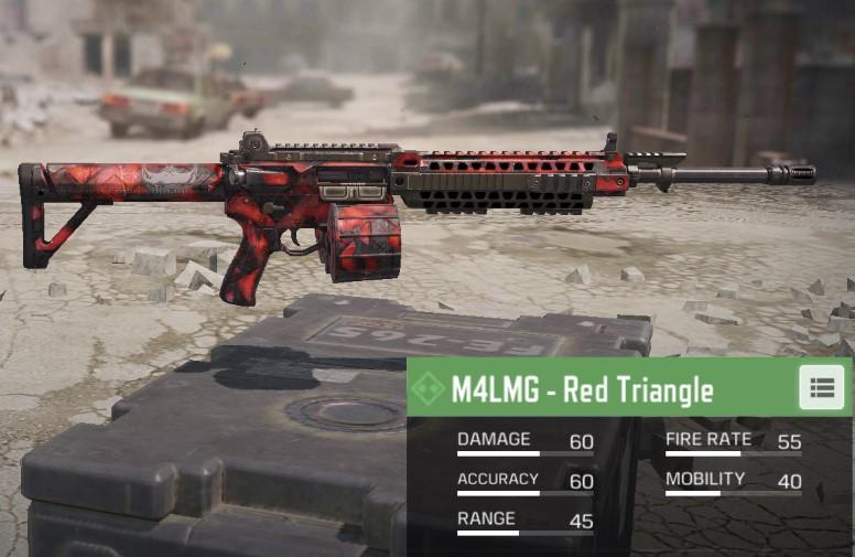 m4lmg cod mobile