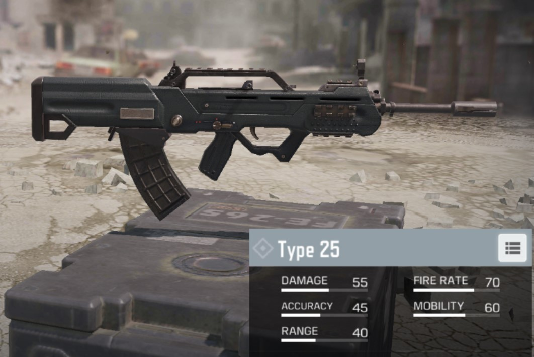 type25 cod mobile