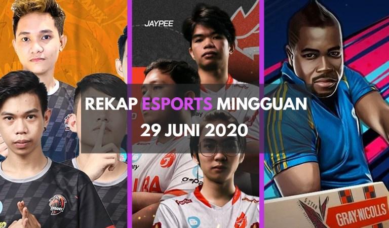 Rekap Berita <em>Esports</em> dalam Sepekan – 29 Juni 2020