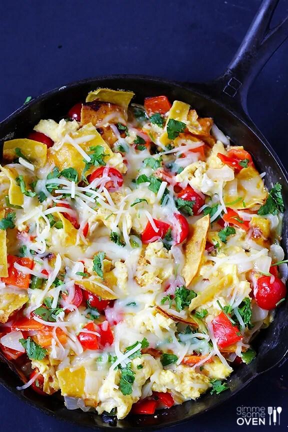 Migas Recipe | gimmesomeoven.com #glutenfree