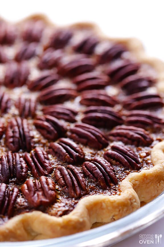 Pecan Pie from Gimme Some Oven | What to bring to Friendsgiving