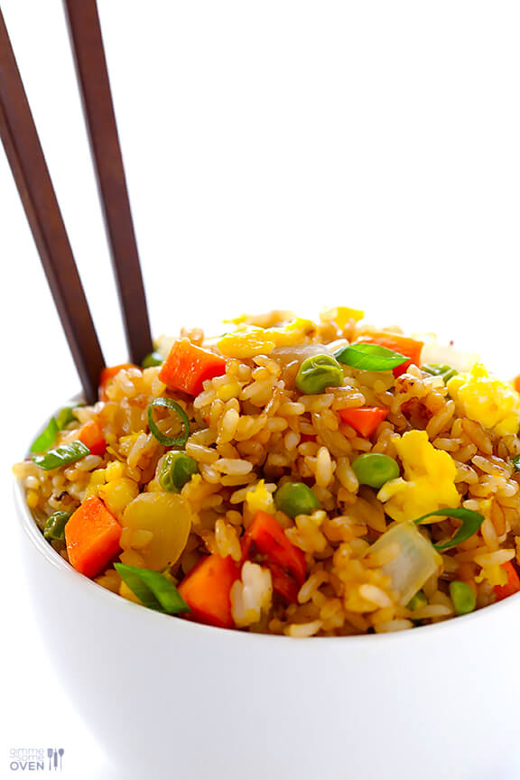 How To Make Fried Rice | gimmesomeoven.com