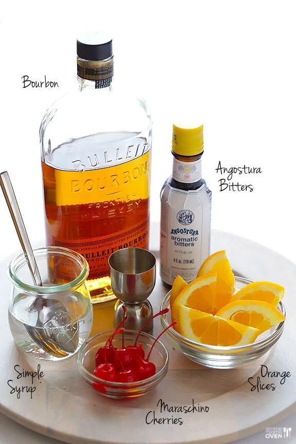 Old Fashioned Recipe   Gimme Some Oven How To Make An Old Fashioned Cocktail Recipe   gimmesomeoven com  drink   cocktail