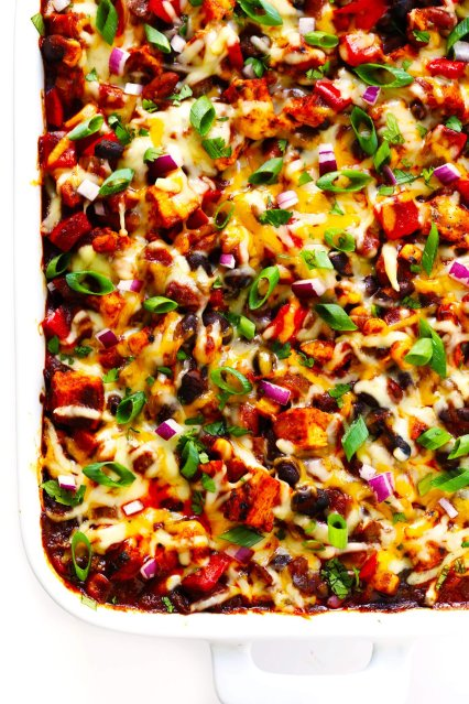 Favorite Chicken Enchilada Casserole Recipe
