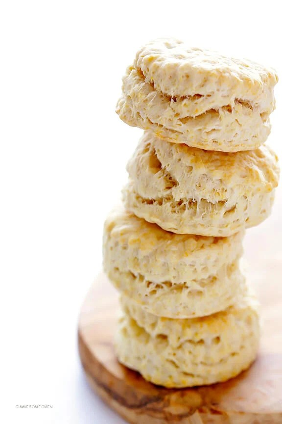 3-Ingredient Coconut Oil Biscuits | gimmesomeoven.com