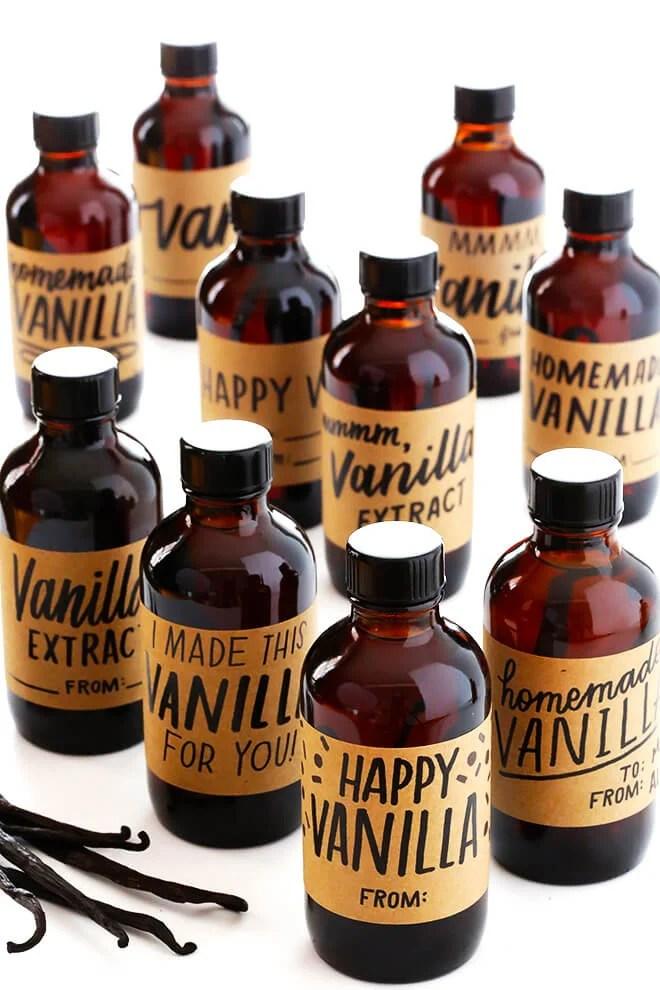 Diy Vanilla Extract Labels | Diydrywalls org