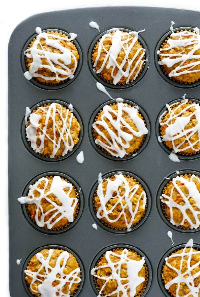 Wholesome Carrot Muffins   Gimme Some Oven These Wholesome Carrot Muffins are naturally sweetened with honey  and SO  delicious    gimmesomeoven