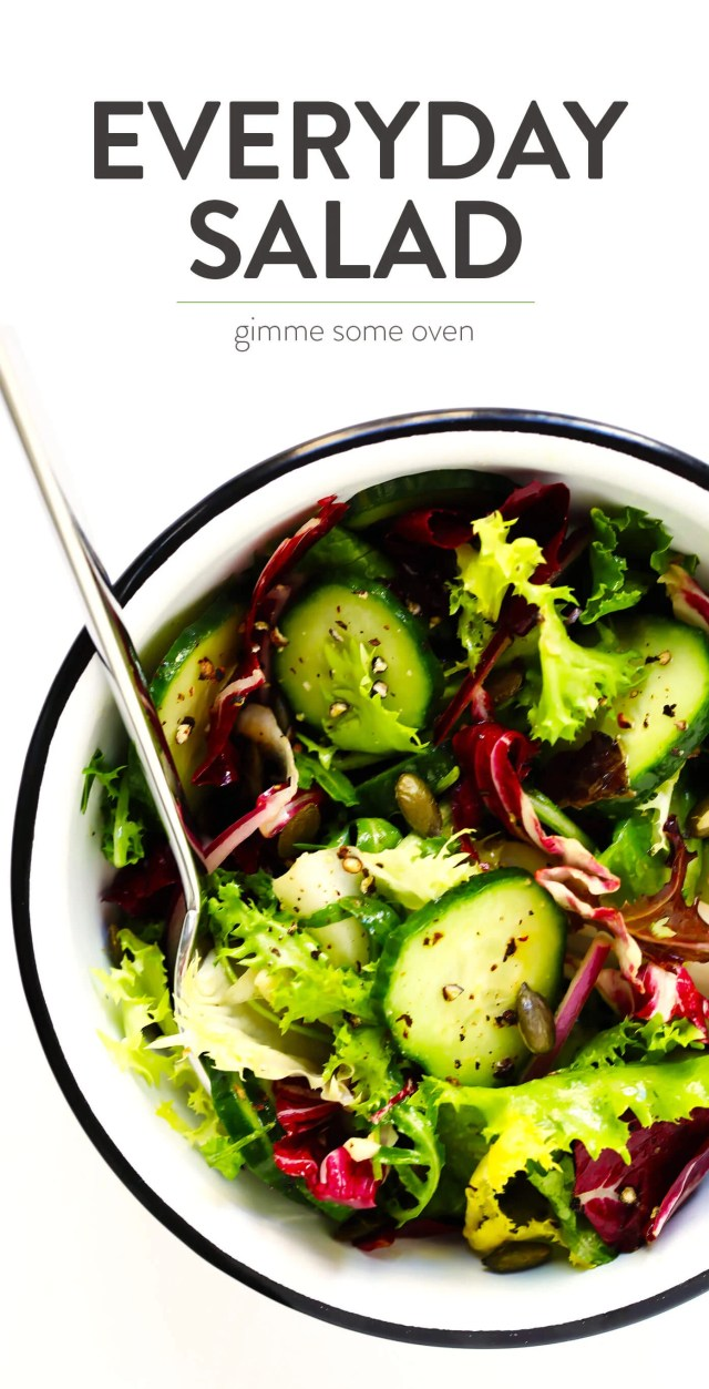 Everyday Salad from Gimme Some Oven
