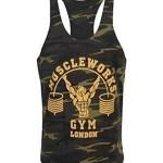 camiseta de tirantes muscleworks