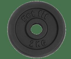 disco 2 kilogramos para barra