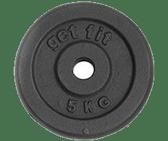 disco 5 kilogramos para barra