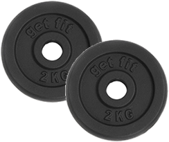 discos 4 kilogramos para barra