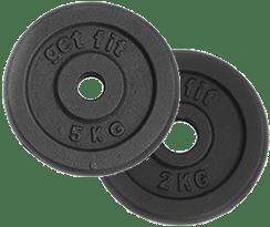discos 7 kilogramos para barra
