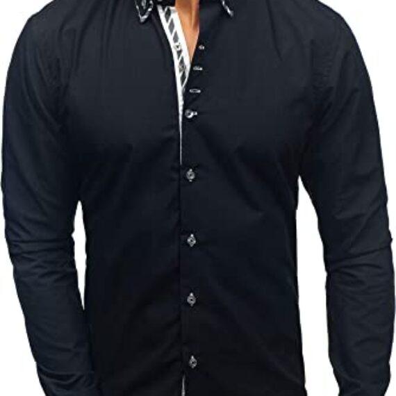 camisa bolf cuello doble