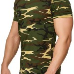 camiseta militar happy clothing