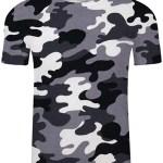 camiseta militar yundongxienv