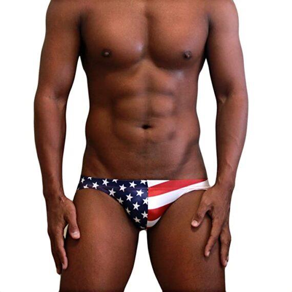 bañadores hombre con banderas