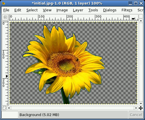 GIMP   Changing Background Color 2 img8 step6 png