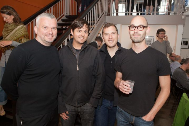 Wilhelm Oehl (Partner Eight Inc.) with David Herman (Eight Inc.), Jeremy Alden (California College of the Arts) and Scott Smardo (Eight Inc.) | © 2011 Philipp Weitz Photography