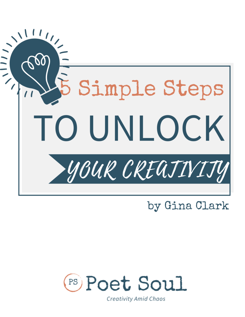 Free guide 5 simple steps to unlock your creativity
