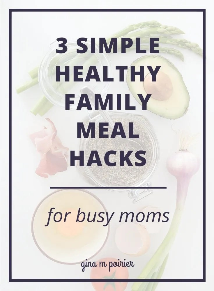 Healthy meal planning for families