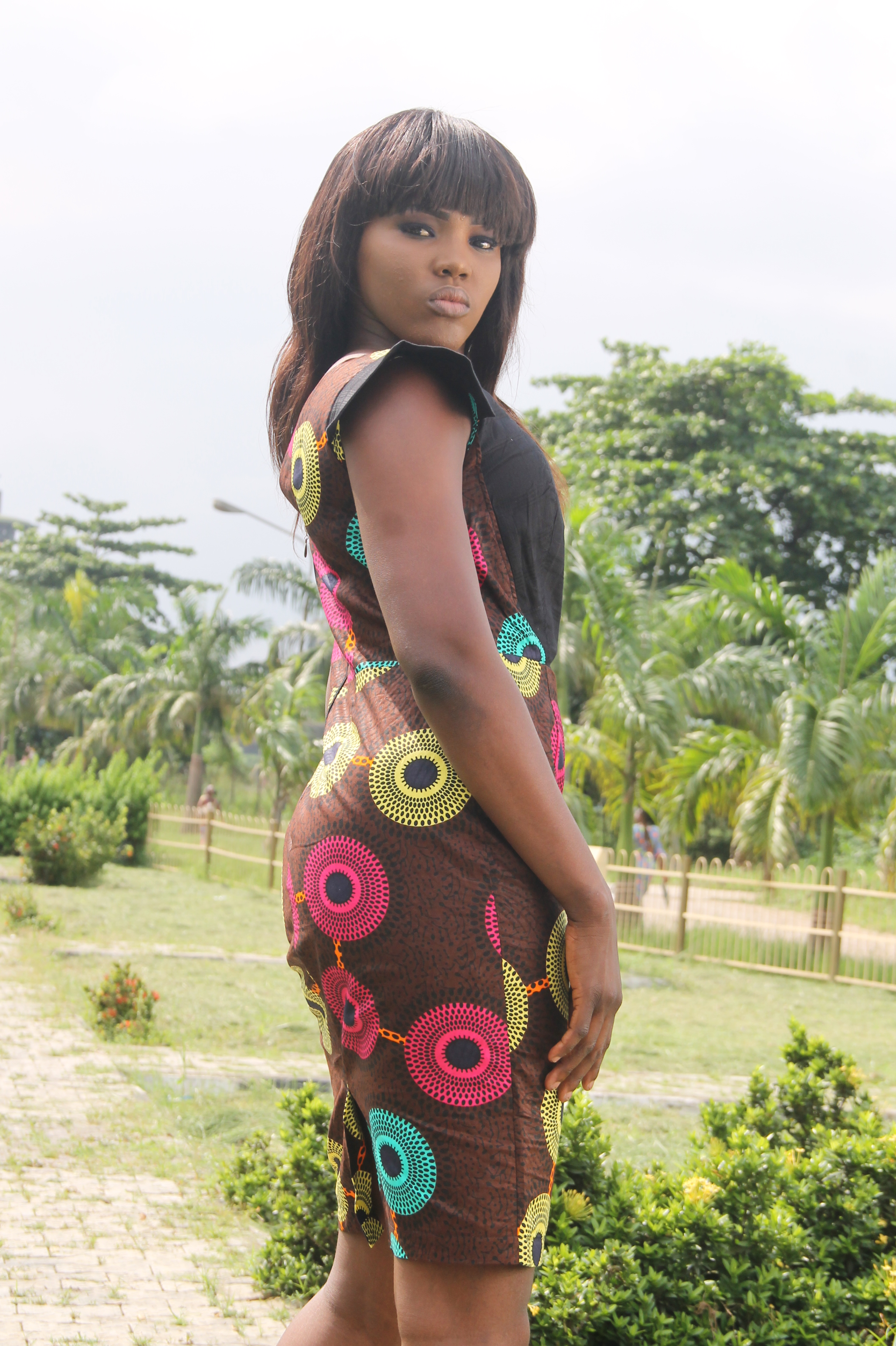 Dress by Omotola