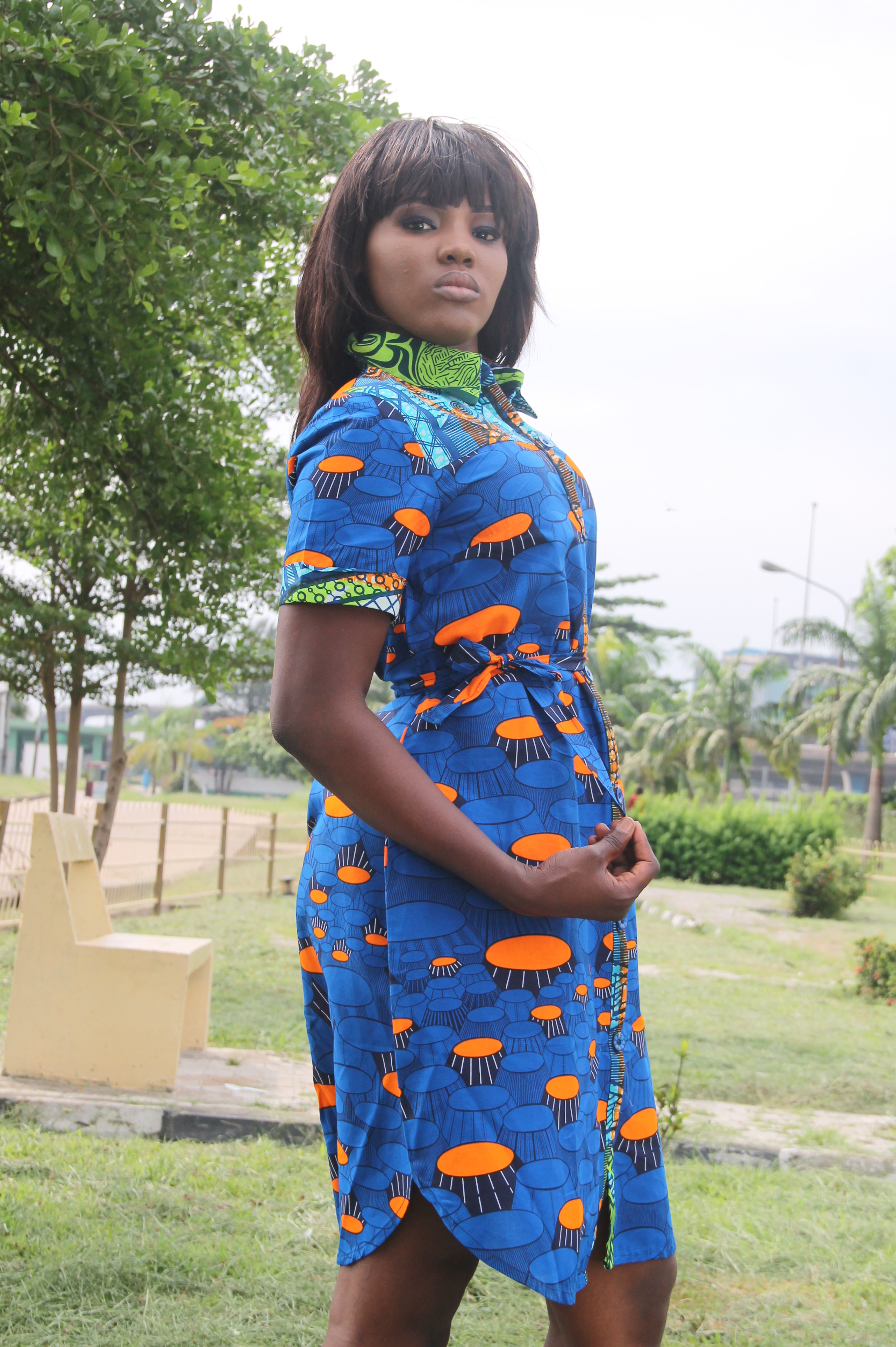 Dress by Florence Ntor