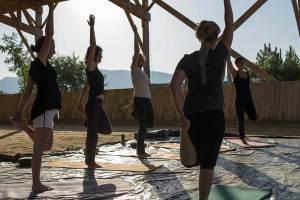 Gina Pitti Equi-Attah yoga à cheval recherche d'équilibre